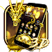 Download 3D Gold Dragon Theme 1.1.3 APK