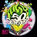 3D Graffiti joker Theme