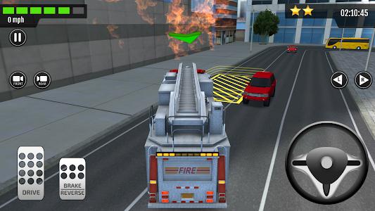 screenshot of Emergency Car Driving Simulator version 1.0