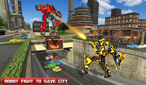 Download Fire Truck Real Robot Transformation: Robot Wars 60 APK