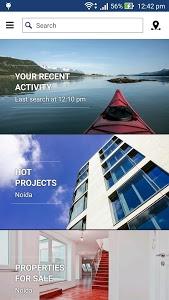 screenshot of 99acres Real Estate & Property version 5.2.1