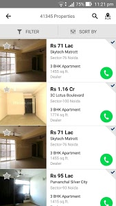 screenshot of 99acres Real Estate & Property version 4.0.0