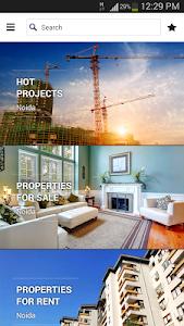 screenshot of 99acres Real Estate & Property version 3.0.1