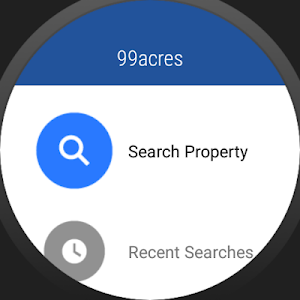 screenshot of 99acres Real Estate & Property version Varies with device