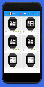 screenshot of Amazfit Bip & Cor WatchFaces version 5.6