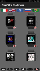 screenshot of Amazfit Bip WatchFaces version 3.2