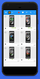 screenshot of Amazfit Bip & Cor WatchFaces version 5.4