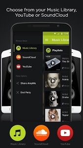 screenshot of AmpMe - Social Music Party version 4.0.1