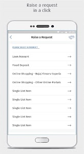 screenshot of Bajaj Finserv version P.4.16.29