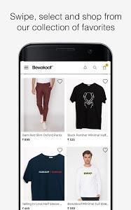 screenshot of Bewakoof Online Shopping App version 1.0.91