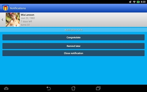 Download Birthdays for Android 3.4.10 APK