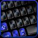 Download Black Blue Keyboard 10001002 APK