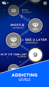 screenshot of BLACKPINK Dancing Line: Music Dance Line Tiles version 4.0.2