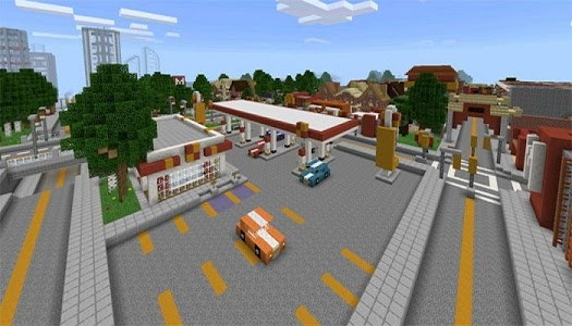 Download Block Angeles Minecraft Map 1.5 APK