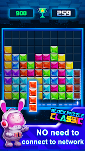 screenshot of Block Puzzle Classic Plus version 1.3.4