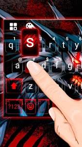 Download Bloody Metal Scary Wolf Keyboard - Wolf theme 1.0 APK