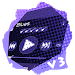 Download Blues PlayerPro Skin 3.1 Bluey Purple APK
