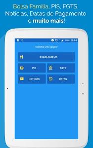 screenshot of Bolsa Família 2018 - Saldo, Extrato, Parcelas version 1.6.6