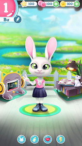 screenshot of Bu the Baby Bunny - Cute pet care game version 1.03