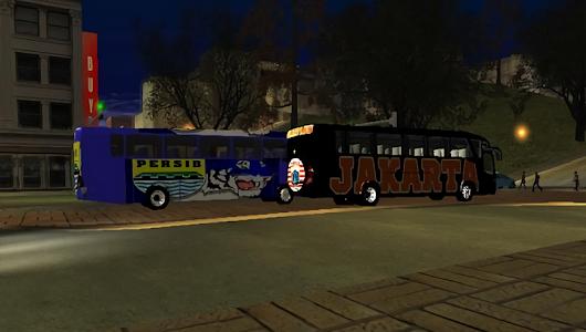 screenshot of Bus Persib Simulator version 1.0