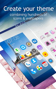 screenshot of C Launcher: Themes, Wallpapers, DIY, Smart, Clean version Varies with device