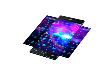screenshot of Neon 2 | HD Wallpapers - Theme version v9.2.2