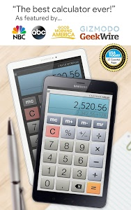 screenshot of Calculator Plus Free version Varies with device