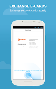 screenshot of CamCard Free - Business Card R version 7.19.6.20181010