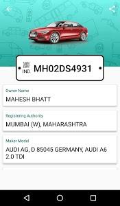 screenshot of Car Info Vehicle Registration version 2.1.2