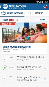 screenshot of Carnival HUB - CARNIVAL BREEZE version 1.1.0