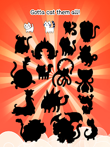 screenshot of Cat Evolution - Cute Kitty Collecting Game version 1.0.9