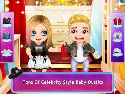 screenshot of Celebrity Baby Salon & Care version 1.1