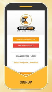 screenshot of Champcash Money Free version 2.2.29