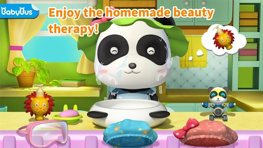 screenshot of Cleaning Fun - Baby Panda version 8.29.00.00