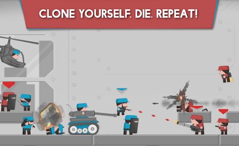 screenshot of Clone Armies version 1.34