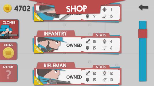 screenshot of Clone Armies version 3.1.2