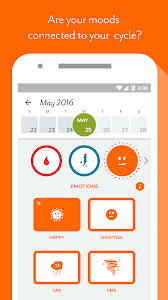 screenshot of Period Tracker Clue: Period & Ovulation Tracker version 3.0.16