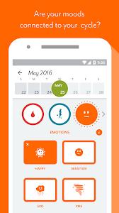screenshot of Clue - Period Tracker version 3.0.16