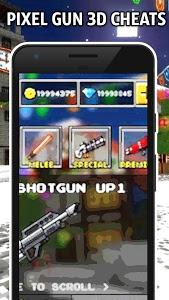 screenshot of Coins gems Pixel Gun 3d - Joke App version 1.0