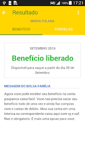screenshot of Consulta Bolsa Família Saldo version 1.4.3