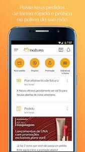 screenshot of Consultoria Natura (Pedidos) version 4.0.9