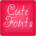 Download Cute Fonts for FlipFont® Free 9.09.0 APK