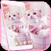 Download Cute Pink Kitty Theme 1.1.2 APK