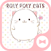 Download Cute Wallpaper Roly Poly Cats Theme 1.0.0 APK
