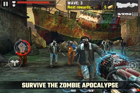 screenshot of DEAD TARGET: Offline Zombie Shooting Games version 4.15.1.1