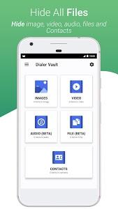 Download Dialer Vault - VaultDroid Hide Photo Video OS 10 1.7 APK