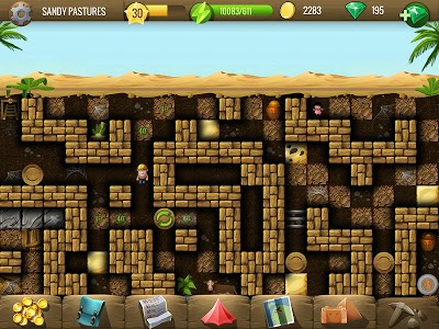 screenshot of Diggy's Adventure: Escape this 2D Mine Maze Puzzle version 1.3.216