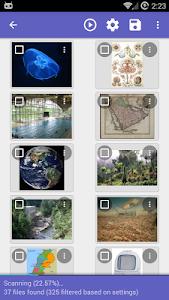 screenshot of DiskDigger photo recovery version 1.0-2016-08-22