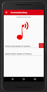 screenshot of DownloadAnySong version 7.0