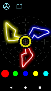 screenshot of Draw and Spin (Fidget Spinner) version 1.11